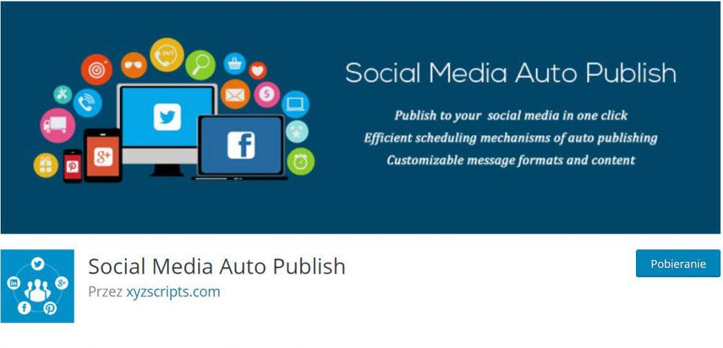 Wtyczka służąca do automatyzacji WordPress oraz mediów społeczeńościowych